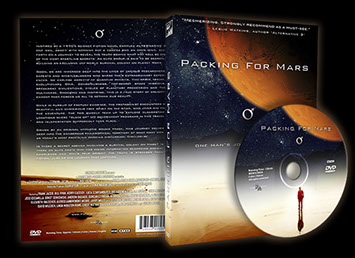 Packing For Mars DVD on Amazon